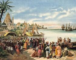 Navio da armada de Vasco da Gama encontrado em Omã