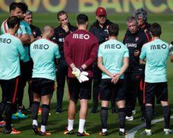 Euro2016: Portugal tem todos disponíveis a dois dias do jogo com a Áustria
