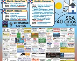 40.º aniversário da Sociedade Recreativa de A-do-Mourão