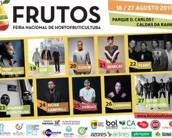 Frutos 2017 abre na sexta-feira no parque das Caldas da Rainha
