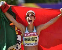 Inês Henriques diz que ouro e recorde mundial resultam de 25 anos de trabalho