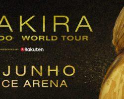 Shakira remarca digressão europeia e atua em Lisboa a 28 de junho