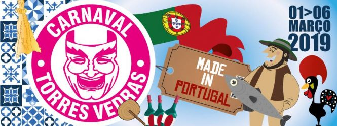 'Made in Portugal' é o tema do Carnaval de Torres Vedras de 2019